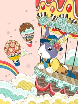 Linda página para colorir para adultos