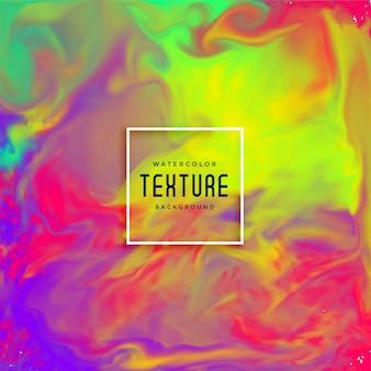 Linda tinta fluxos textura aquarela