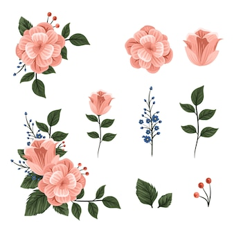 Lindo buquê floral 2d