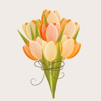 Lindo buquê floral vintage