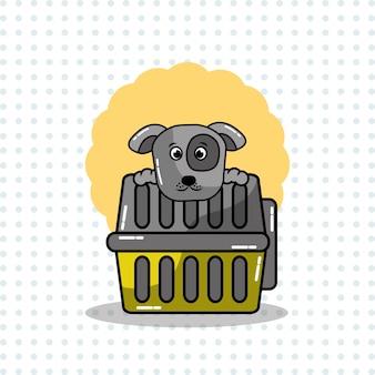 Lindo cão e animal de estimação animal