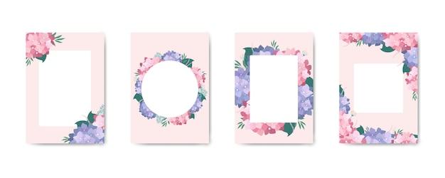 Lindo cartão floral