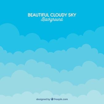 Lindo céu nublado
