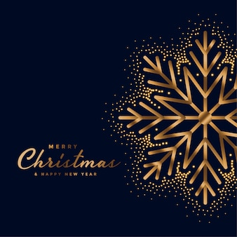 Lindo feliz natal festival dourado cartão