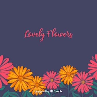 Lindo fundo floral