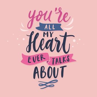 Lindo fundo romântico letras