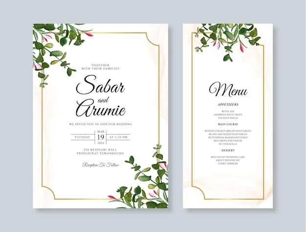 Lindo modelo de convite de casamento