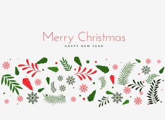 Lindo Natal deixa o fundo da decoração