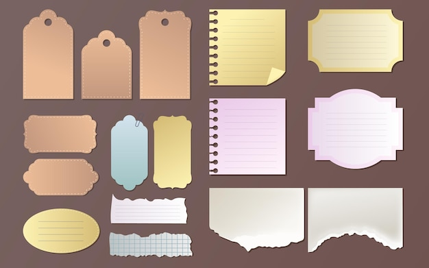 Lindo pacote de papel para scrapbook