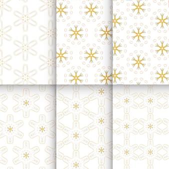 Lindo padrão de azulejos amarelos pintados