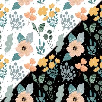 Lindo padrão floral sem emenda