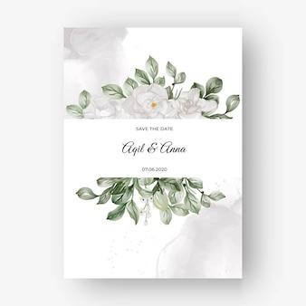 Lindo quadro floral para casamento com flor de gardênia branca