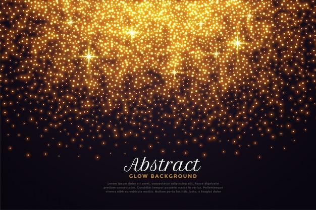 Lindos brilhos na cor dourada