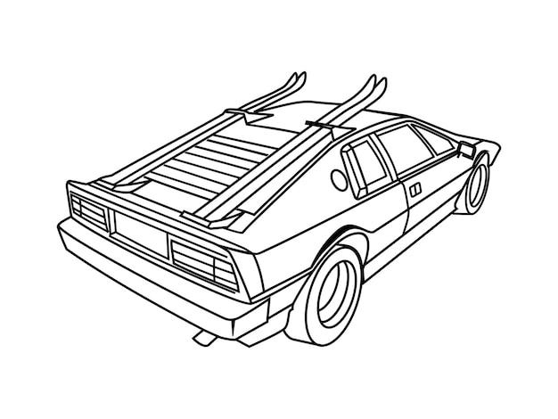 Lineart carro