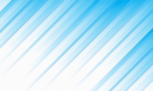Linha abstrata branca e azul cor design moderno fundo