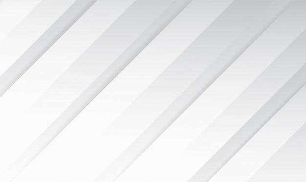 Linha abstrata branca e cinza cor moderno design de plano de fundo