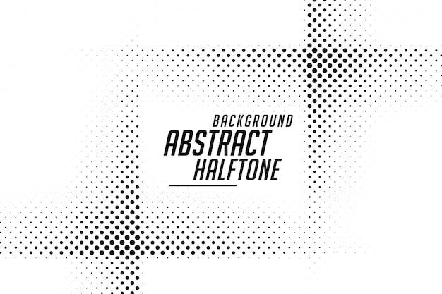Linha abstrata estilo meio-tom preto e branco fundo