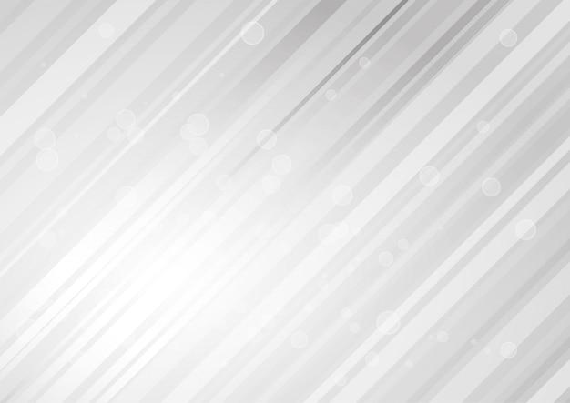 Linha abstrata fundo de tom branco e cinza