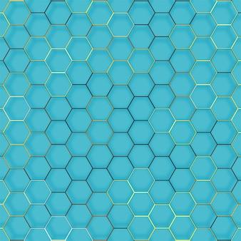 Linha abstrata textura geométrica do hexágono