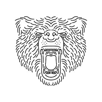Linha animal bear
