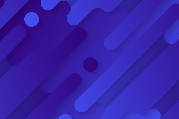 Linha arredondada abstrata formas gradiente fundo