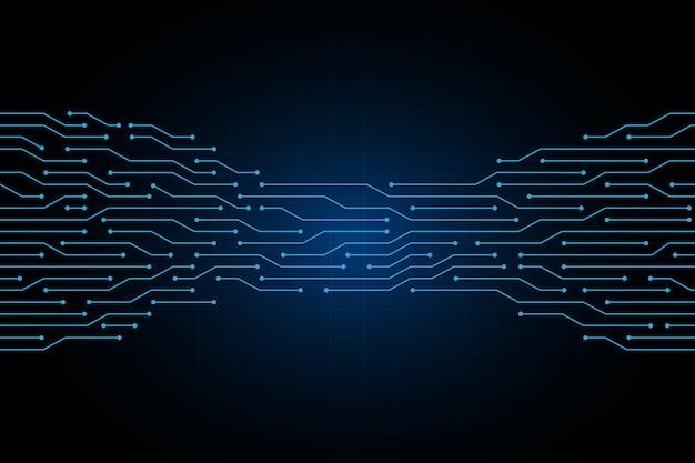 Linha circuito abstrato tecnologia eletricidade fundo
