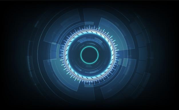 Linha de conexão no fundo do conceito de telecomunicação de rede