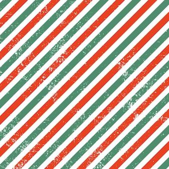 Linha de cor de natal com efeito grunge Vetor Premium
