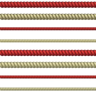 Linha de corda