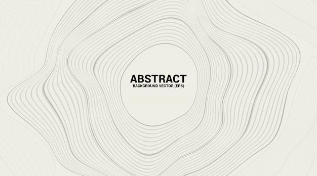 Linha de curva de contorno digital e onda com estrutura de arame. abstrato para o conceito de tecnologia futurista