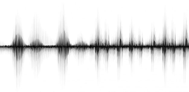 Linha de fundo abstrato soundwave