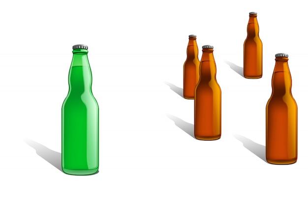 Linha de garrafa