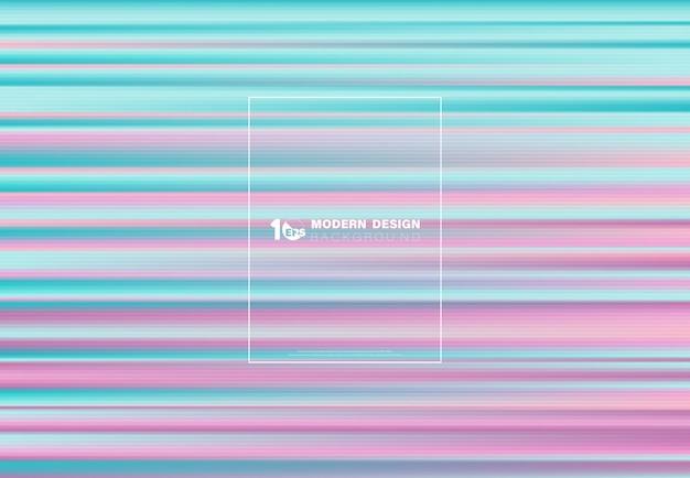 Linha de holograma abstrata de fundo futurista de design colorido.