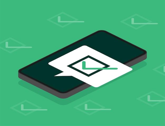 Linha de laptop de pesquisa em estilo simples em verde
