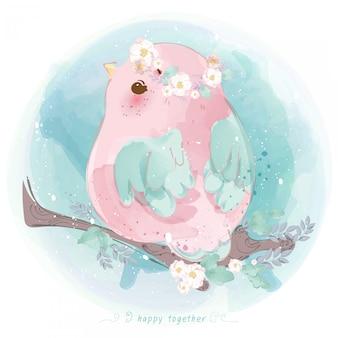 Linha de parada de mão desenhada doodle bonito em animaiscrianças brincando de doce ou travessura no dia das bruxas