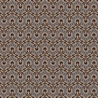 Linha de polígono e plano de fundo sem emenda.