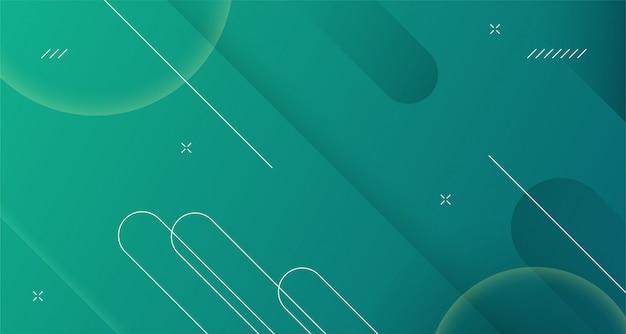 Linha geométrica dinâmica forma design limpo abstrato moderno