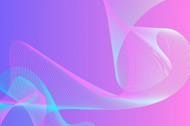Linha onda abstrato para fundo de negócios com espaço de cópia.