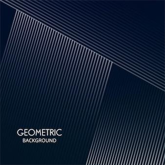 Linhas abstratas criativas de forma geométrica