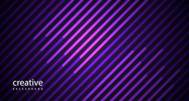 Linhas abstratas fundo impressionante roxo
