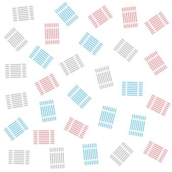 Linhas abstratas padrão de decoração de fundo