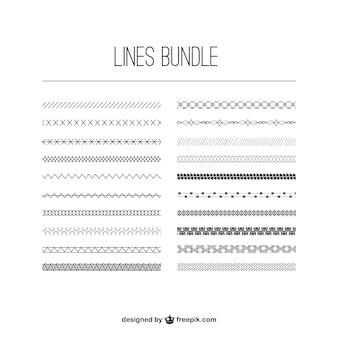 Linhas agrupar