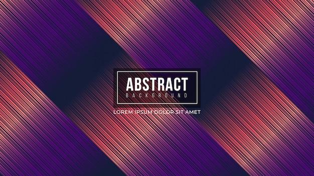 Linhas de gradiente roxo abstrato fundo