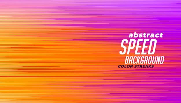 Linhas de velocidade abstraem base