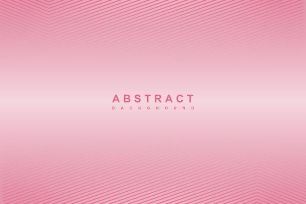 Linhas diagonais abstratas com fundo gradiente rosa
