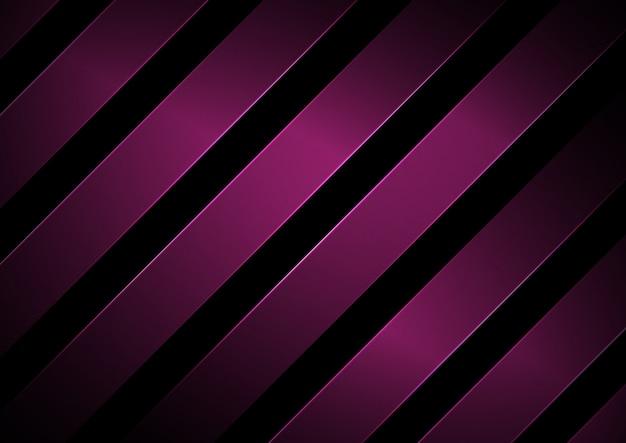 Linhas diagonais geométricas abstratas de listras rosa