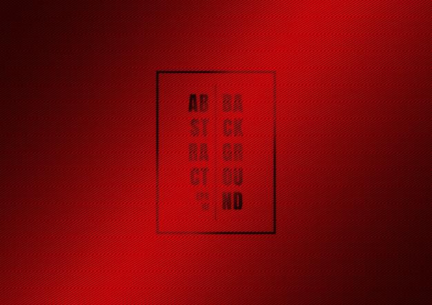 Linhas diagonais listradas abstratas padrão de fundo vermelho