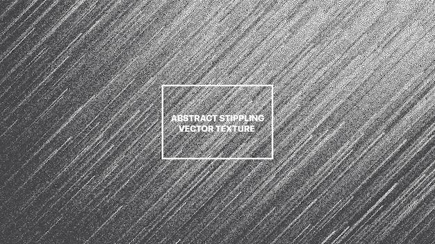 Linhas dinâmicas dotwork falha arte abstrato