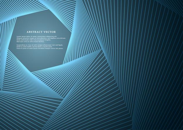 Linhas geométricas ou listras em um fundo brilhante