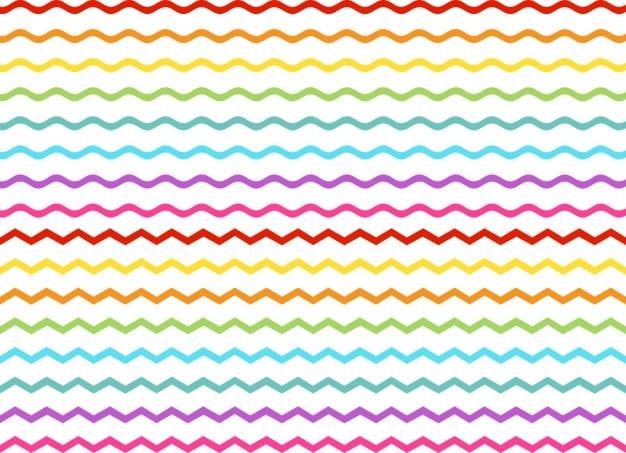 Linhas onduladas fundo